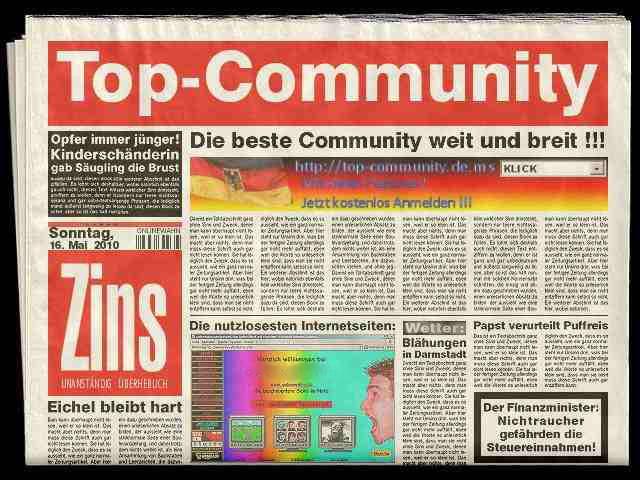 Auch in der Zeitung waren wir schon einmal !!!