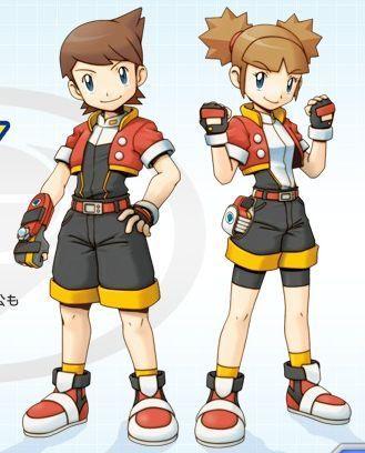 Kellyn and kate pokemon ranger shadows of almia 6943533 329 408