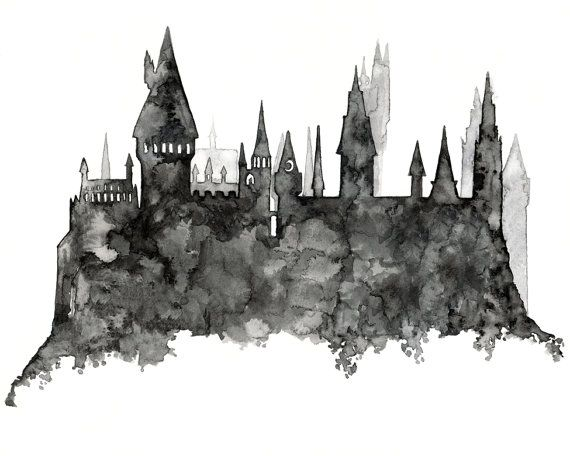 hogwarts castle gray paint art.jpg