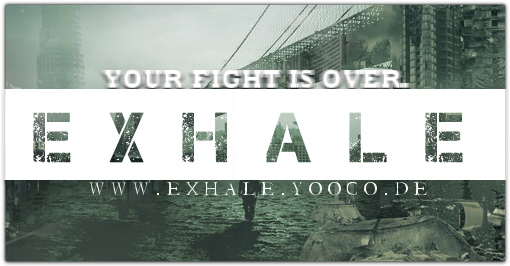 Exhale BANNER