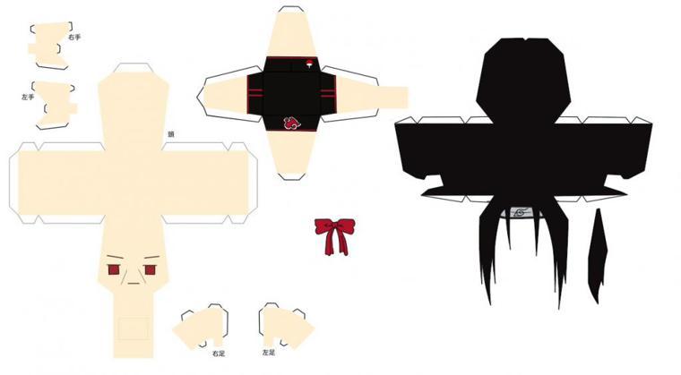Papercraft: Itachi Uchiha (Naruto/Shippuuden) Beachtime
