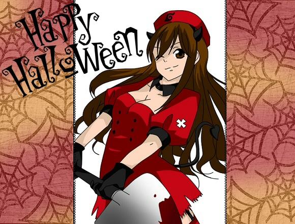 Happy Halloween - Yureiko