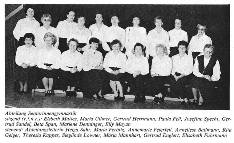 Seniorinnengymnastik 86-87