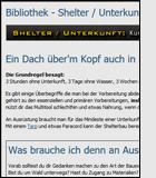 Shelter / Unterkunft
