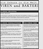 Viren und Bakterien