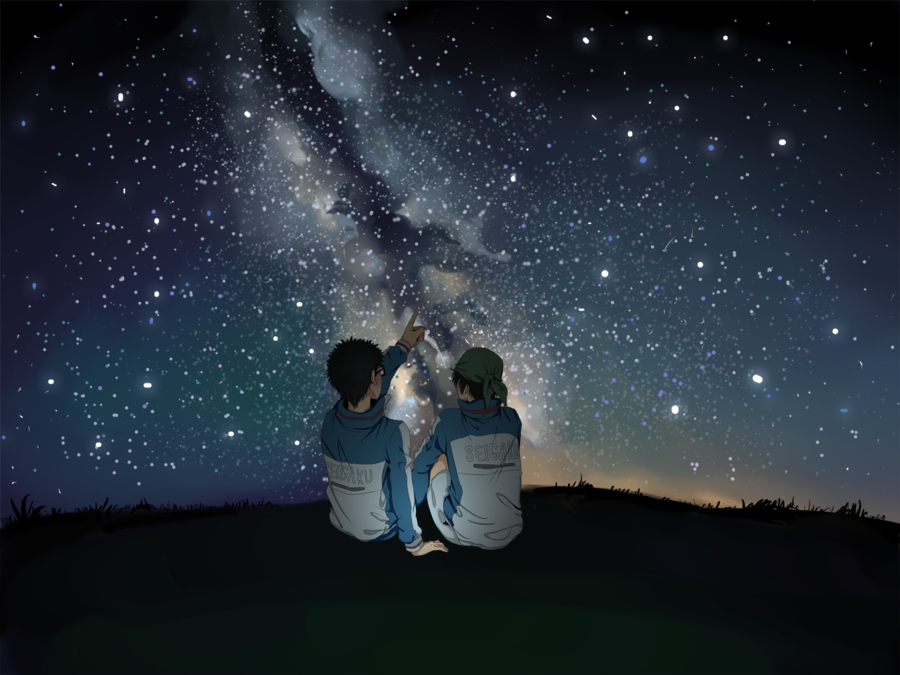 ♕ SPIRIT BRINGERS: EMPYREAN REALM. (SAGA DE BYNQUISTERR) - Página 21 Stargazing_by_aceofzeon-d6retka