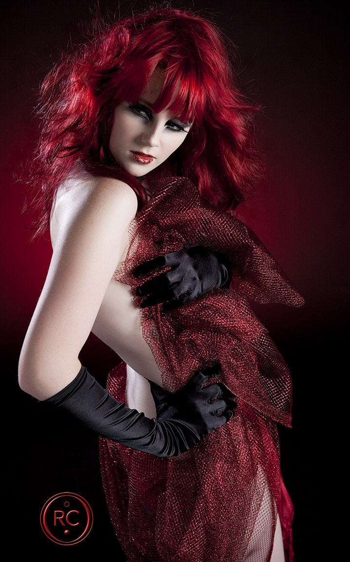 red hair girl