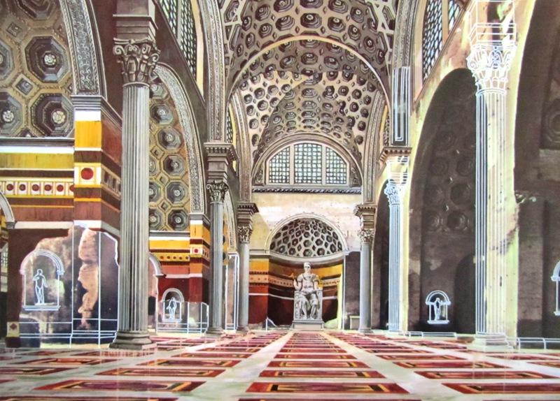 Basilica Of Maxentius Reconstruction
